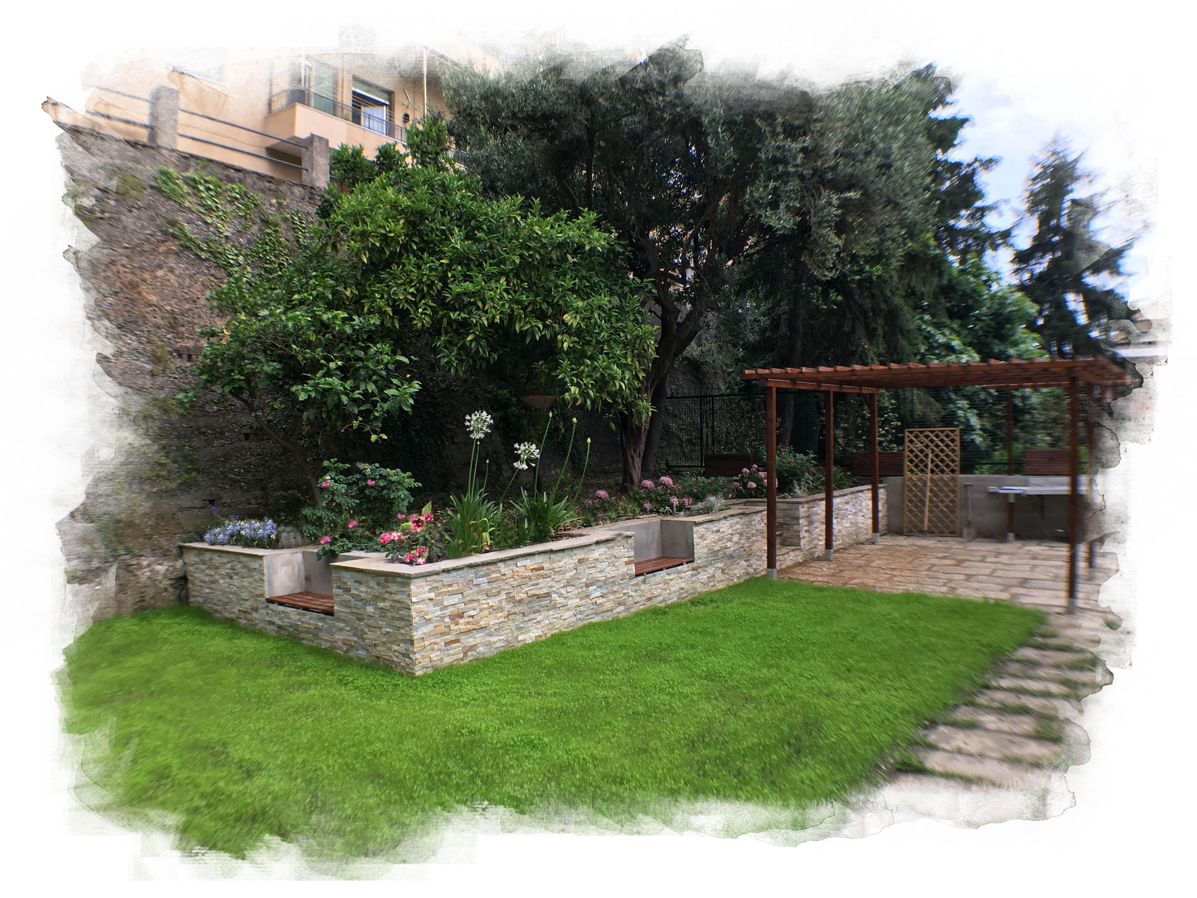 realizzazione giardino architetto paesaggista Andrea Telefono Andrea Jentile (2)