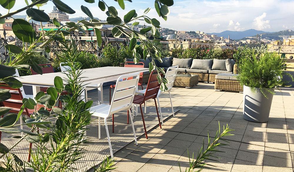 Progettazione terrazzo Genova 2
