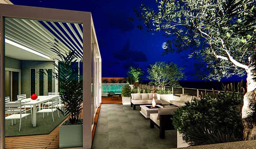 Progettazione-terrazzo-notturno